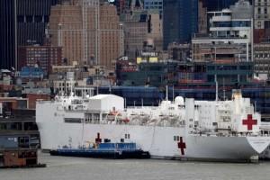 美海军安慰号一名船员确诊未曾触摸船上患者